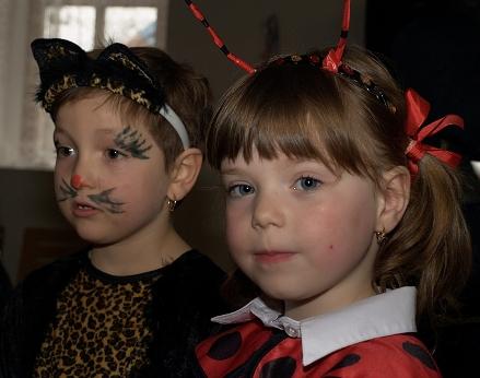 Dětský karneval Mančice