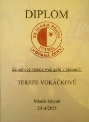 View the album Terka Vokáčková a Darča Kolářová ve Slavii i Evropě